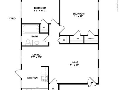 Two  Bedroom Plan